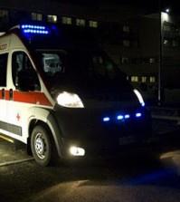Ambulanza notte - lampeggianti